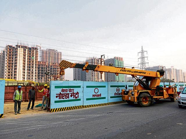 The Supreme Court on Friday permitted the Delhi Metro Rail Corporation to continue with its work on the Noida-Greater Noida link, putting on hold the National Green Tribunal order that held the project needed environmental clearance.