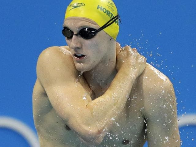 Australia's Mack Horton had called China's Sun Yang a 'drug cheat' after winning the men's 400m freestyle gold.