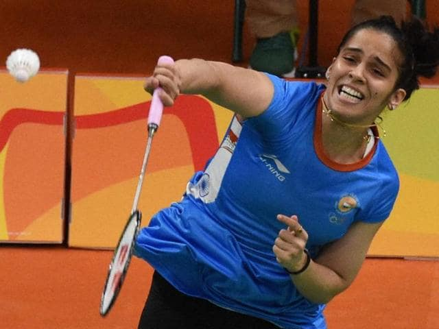 Saina Nehwal suffered a shock loss to Ukraine's Maria Ulitina in the group stage.
