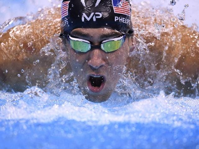 USA's Michael Phelps has won 22 Olympic gold medals.