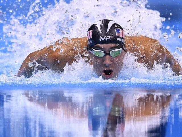 Michael Phelps' medal tally stands at 28 medals, including 23rd gold.