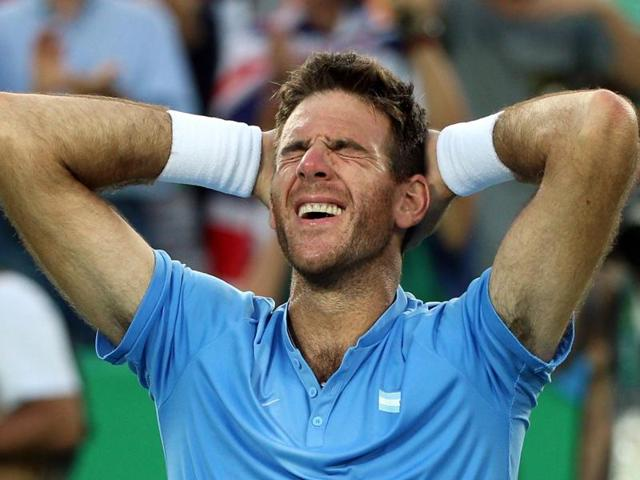 Juan Martin del Potro of Argentina can become the first tennis player to win two gold medals in singles, male or female.
