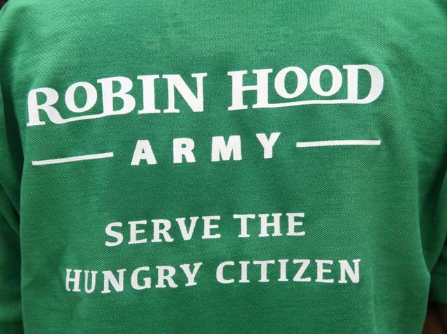 The Robin Hood Army, a volunteer-based organisation that collects and distributes leftover food among the needy, has started its college chapter in Delhi University. Student volunteers of Lady Shri Ram College for Women at work.