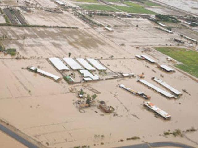 Sudan,Flood,100 dead