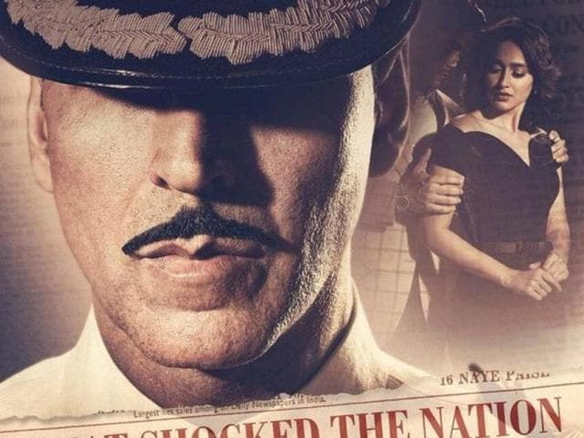 The story of Rustom is inspired from the Indian court case of Commander KM Nanavati vs State of Maharashtra.