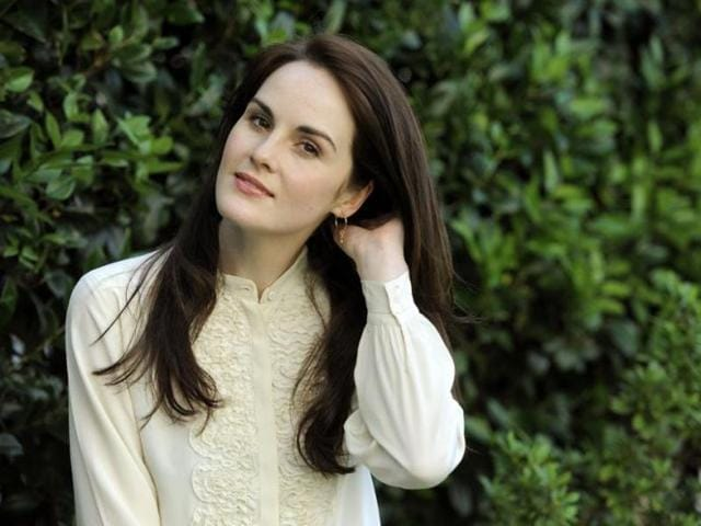 Michelle Dockery is making fans hopeful for  a Downton Abbey movie.