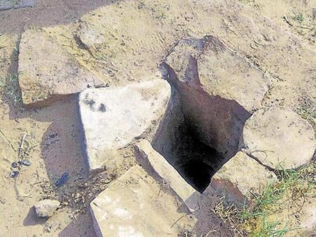 A 16-year-old boy fell into a 80-feet deep well in Coimbatore on Monday.