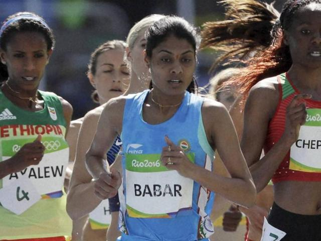 Babar clocked 9:22.74 in the finals, nearly three seconds outside her national record effort of 9:19.76 in the qualification round.