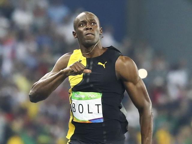 Lightning strikes thrice: Bolt completes 100m hat-trick at ...