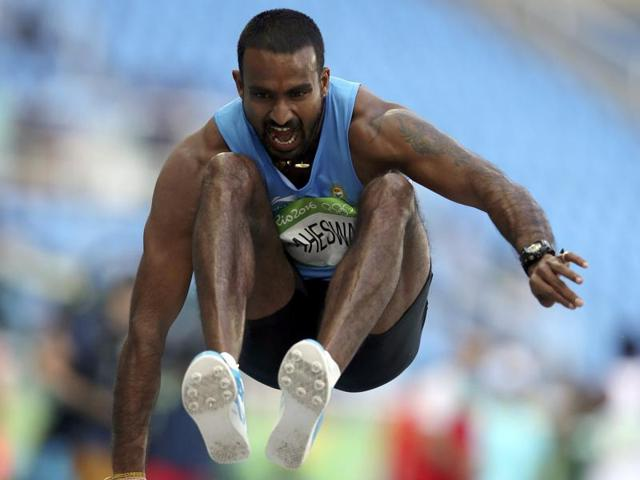India's Renjith Maheshwary failed to qualify for the final of the men's triple jump at the Rio Olympics on Monday.