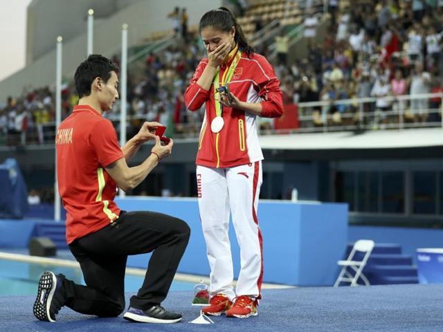 Rio 2016,Olympics,He Zi