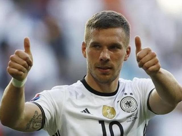 Podolski said in an Instagram post he had informed Germany coach Joachim Loew that he is retiring from international football with immediate effect.