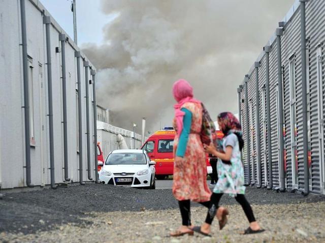 German refugee firm,Refugee crisis,Europe's refugee crisis