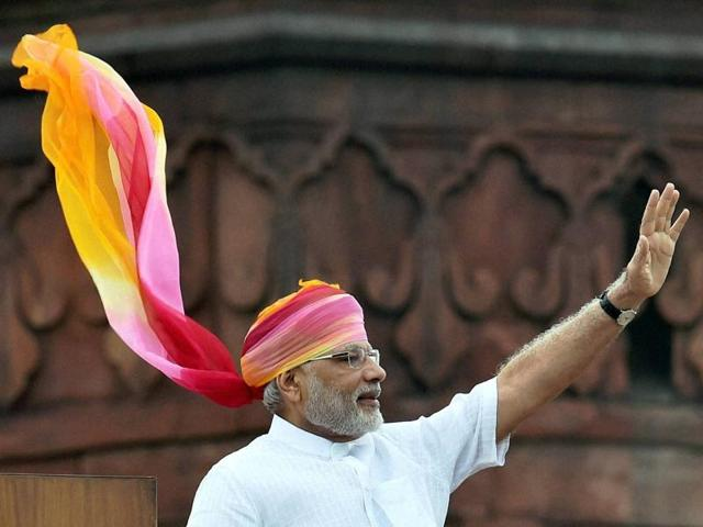 Prime Minister Narendra Modi's Independence Day speech from the ramparts of Red Fort on Monday was the longest in 15 years.