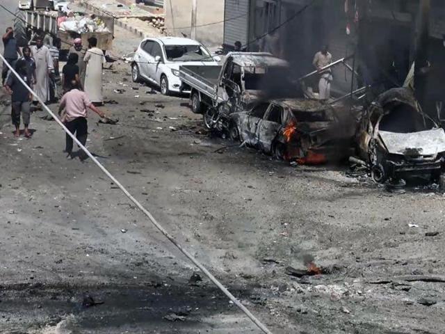 Syrian border,Turkey,Blast