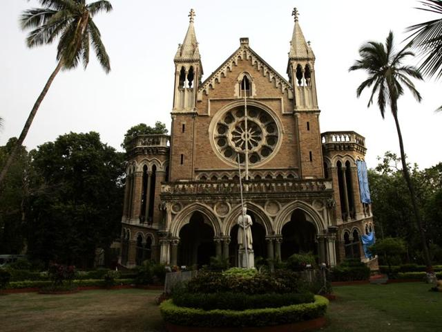 Mumbai University's Convocation Hall. HT Photo by Ritesh Uttamchandani