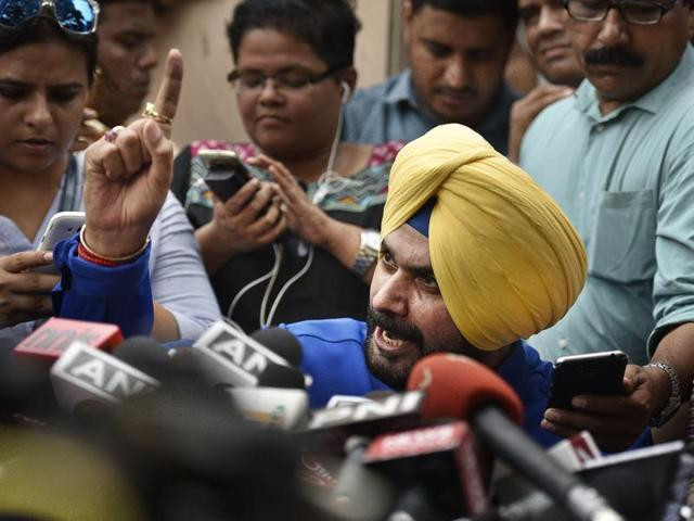Navjot Sidhu, who was to join the AAP on August 14, is still in talks with its leader Arvind Kejriwal.