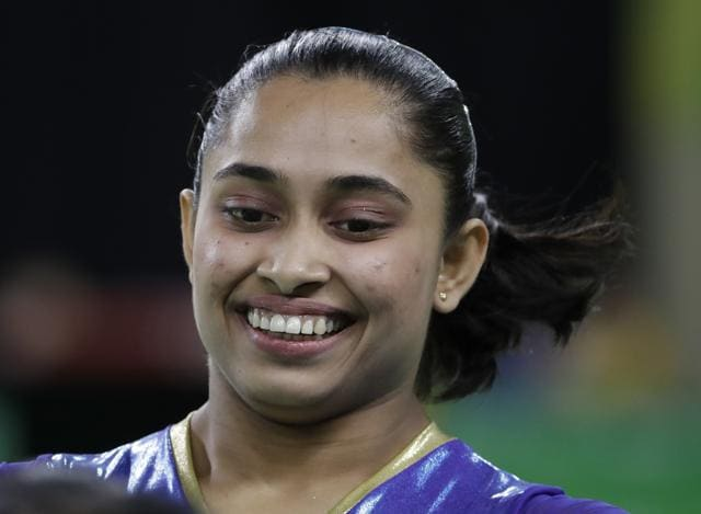 Dipa Karmakar finished fourth at the women's vault final in Rio de Janeiro on Sunday, becoming the first Indian gymnast to achieve the feat.