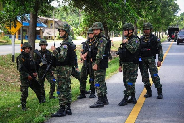 Thailand,Thailand blasts,Thailand bacho district