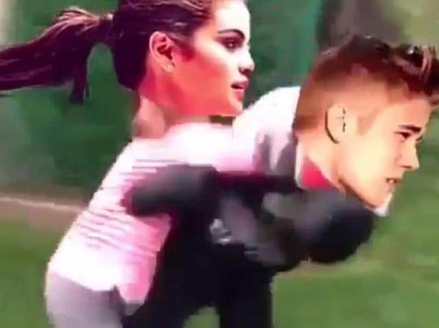 Selena Gomez,Justin Bieber,Fight