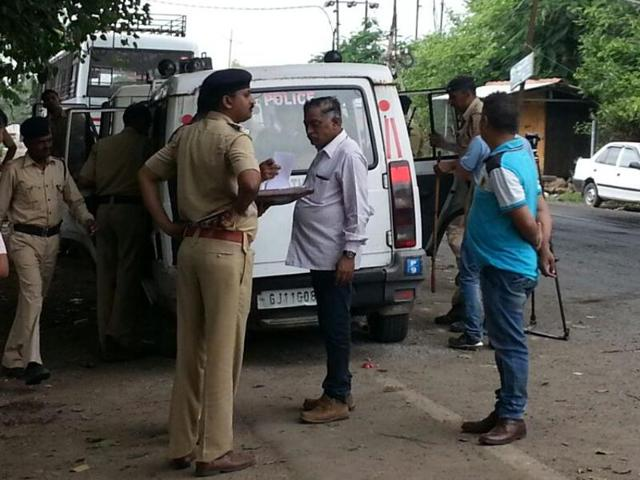 There was no fresh violence in Una on Tuesday, but the town that has become the epicentre of the nationwide fight against atrocities on Dalits remained tense.