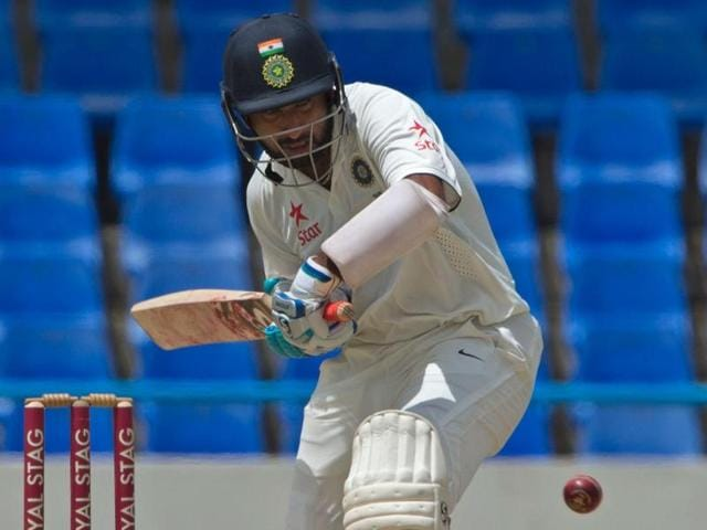 Pujara's last century came in the form of an unbeaten 145 when he opened against Sri Lanka almost a year back.