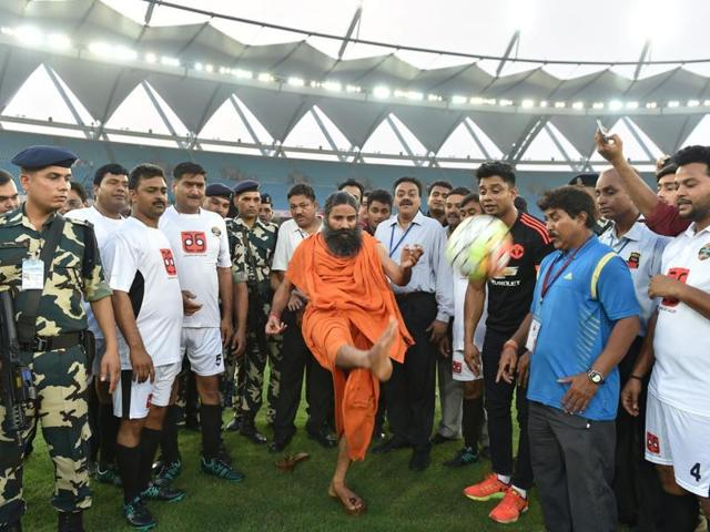 Indian yoga guru Baba Ramdev has kicked off his Swadeshi campaign. His latest markeying strategy to take on multinationals like Nestle and Colgate.