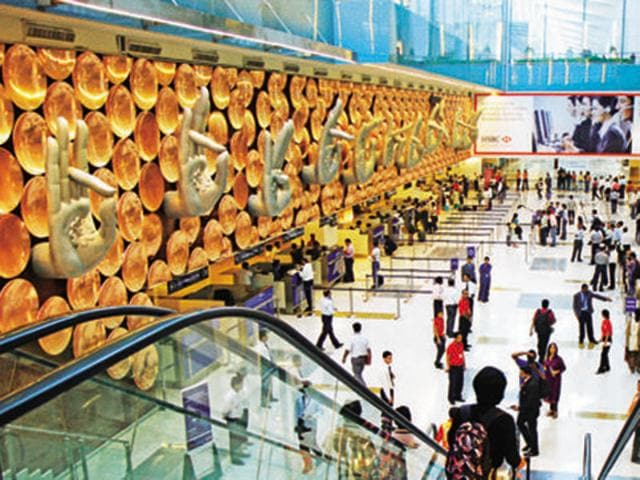 Seen here is the Terminal 3 of the IGI Airport in New Delhi. A major overhaul of the security infrastructure at airports across India is on the cards over an increased threat of terrorist attack.