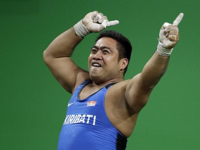 David Katoatau of Kiribati got more cheers than any other lifter, including a Brazilian, throughout the men's 105kg B group in Rio on Monday.