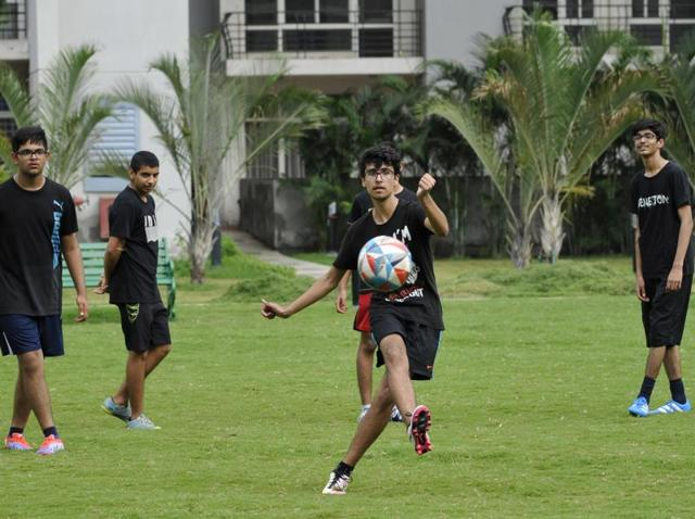 The Grand Omaxe FC team has been practising for the past three months for the HTGIFAtournament that will test the best from Delhi and NCR.