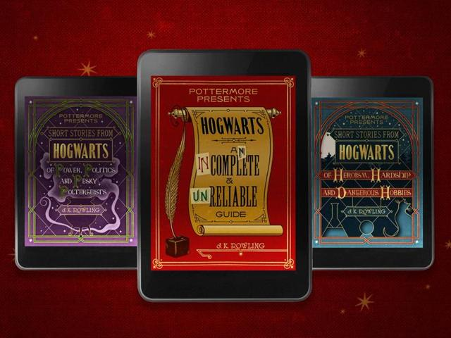 We're thrilled to announce Pottermore Presents, a trio of eBooks published in September, read Pottermore's statement.