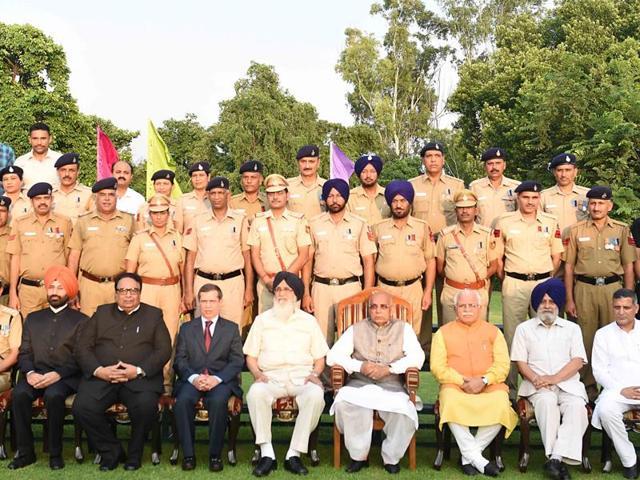 Kaptan Singh Solanki,Haryana governor,Punjab Raj Bhawan