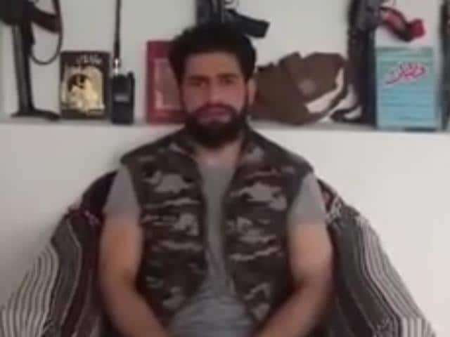 Burhan Wani successor,Hizbul Mujahideen,Kashmir protest