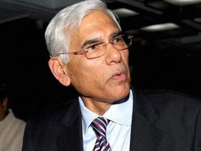 Banks Board Bureau chief and former comptroller and auditor general Vinod Rai.