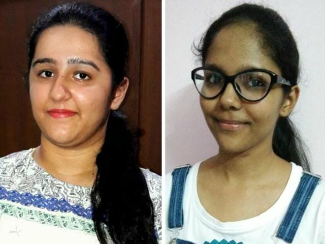 Shreya Malhan (left) and Khyati (right)