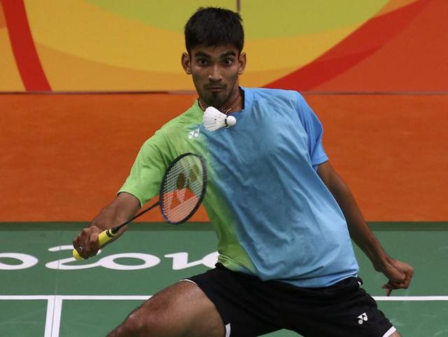 Kidambi Srikanth is just a win away from the gold medal match.