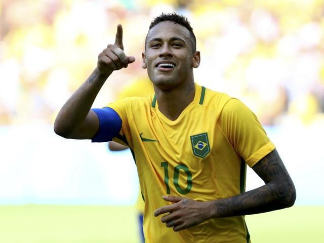 Neymar,Fastest Olympic goal,Brazil vs Honduras