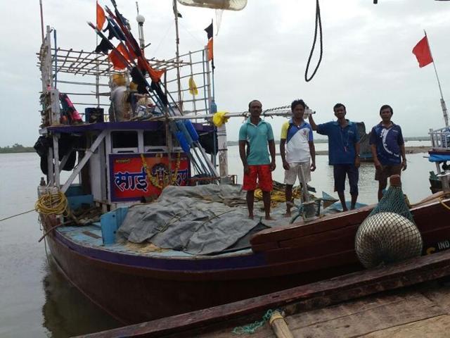 The trawler,Maha Ganpati.
