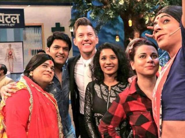Lee and Tannishtha promoted their film on The Kapil Sharma Show. (Twitter)