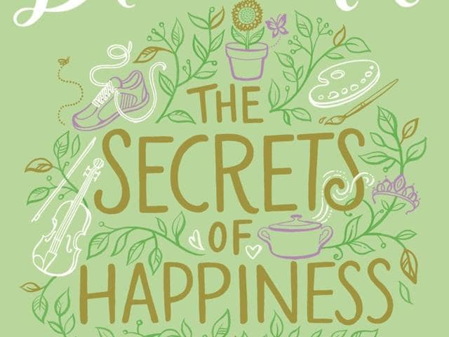 Book cover of The Secrets of Happiness, by Lucy Diamond.