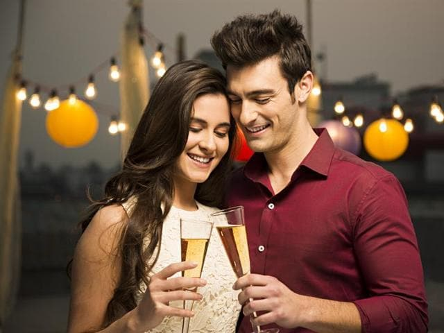 A survey conducted by the University of Michigan, USA, found out that couples who drank together were happier than those people whose partners don't drink
