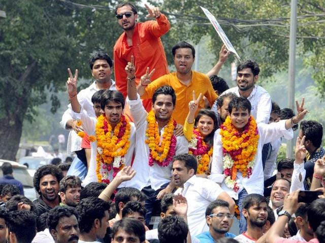 Delhi University Students' Union elections will be held on September 9. The last date to file nominations is September 1.