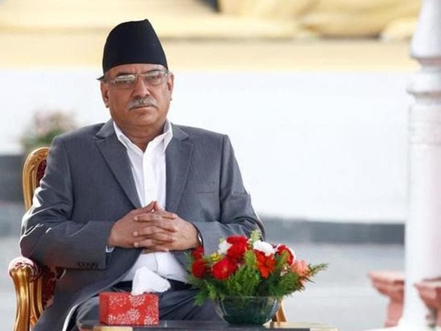 Bimalendra Nidhi,Pushpa Kamal Dahal,Rajnath Singh