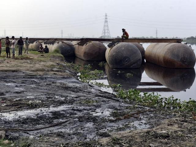 """An NGT-appointed expert panel has said that Yamuna's  floodplain was """"completely destroyed"""" and the ground was devoid of water bodies and vegetation because of the festival held in March."""