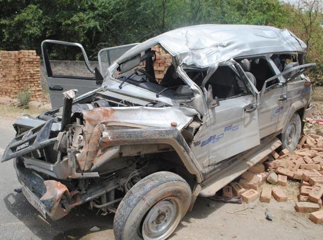 Road accident,Dindori,Madhya Pradesh