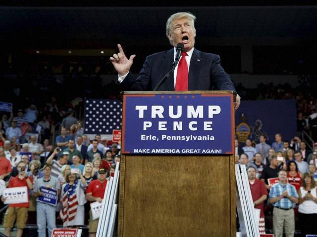 Donald Trump,US presidential election,Republican nominee Trump