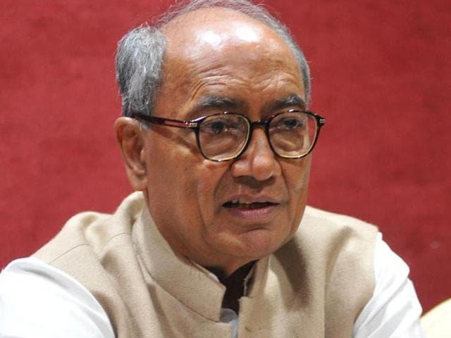 File photo of senior Congress leader, Digvijaya Singh .