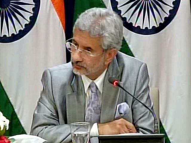 Foreign secretary S Jaishankar said it should be clear that any unprovoked firing will be met with an effective & forceful response from our side. (ANI Photo)