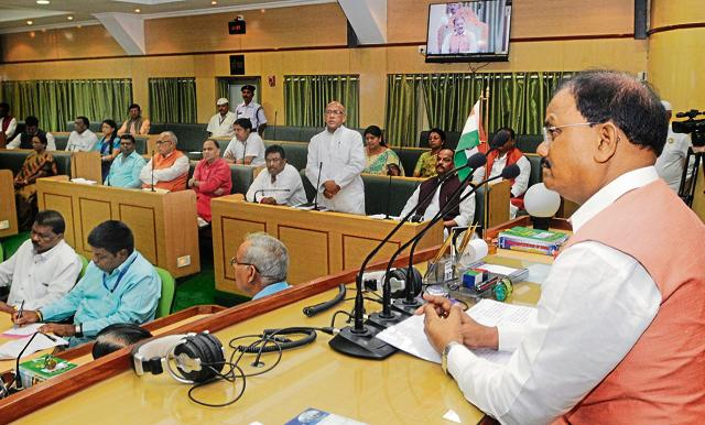 The GST Bill is introduced in the state assembly.