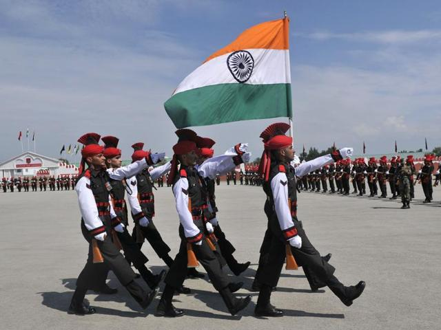 Amid calls for 'azadi' in Kashmir, many don Indian Army uniform